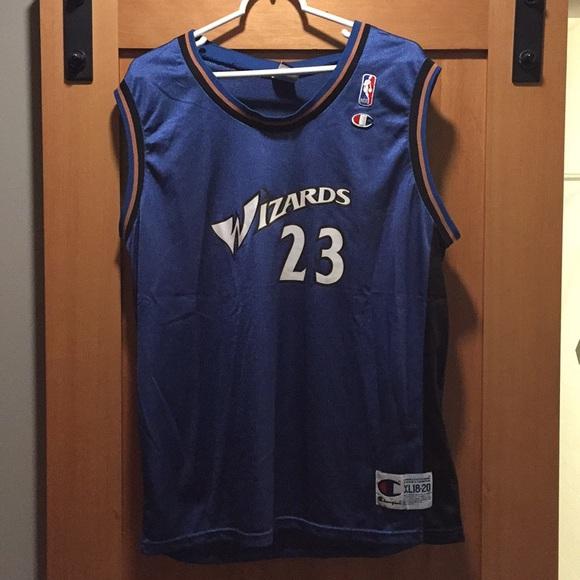 quality design a432d 2043c Michael Jordan Washington Wizards Jersey